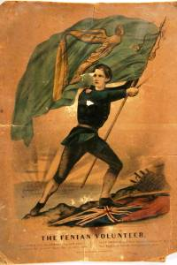 Irish Fenian Volunteer Poster (re. Wild Goose [AUS, 1867])