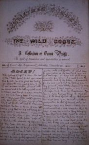 The Wild Goose: A Collection of Ocean Waifs (AUS, 1867)