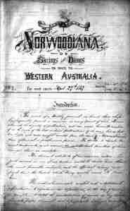 Norwoodiana (Eng-Aus, 1867)